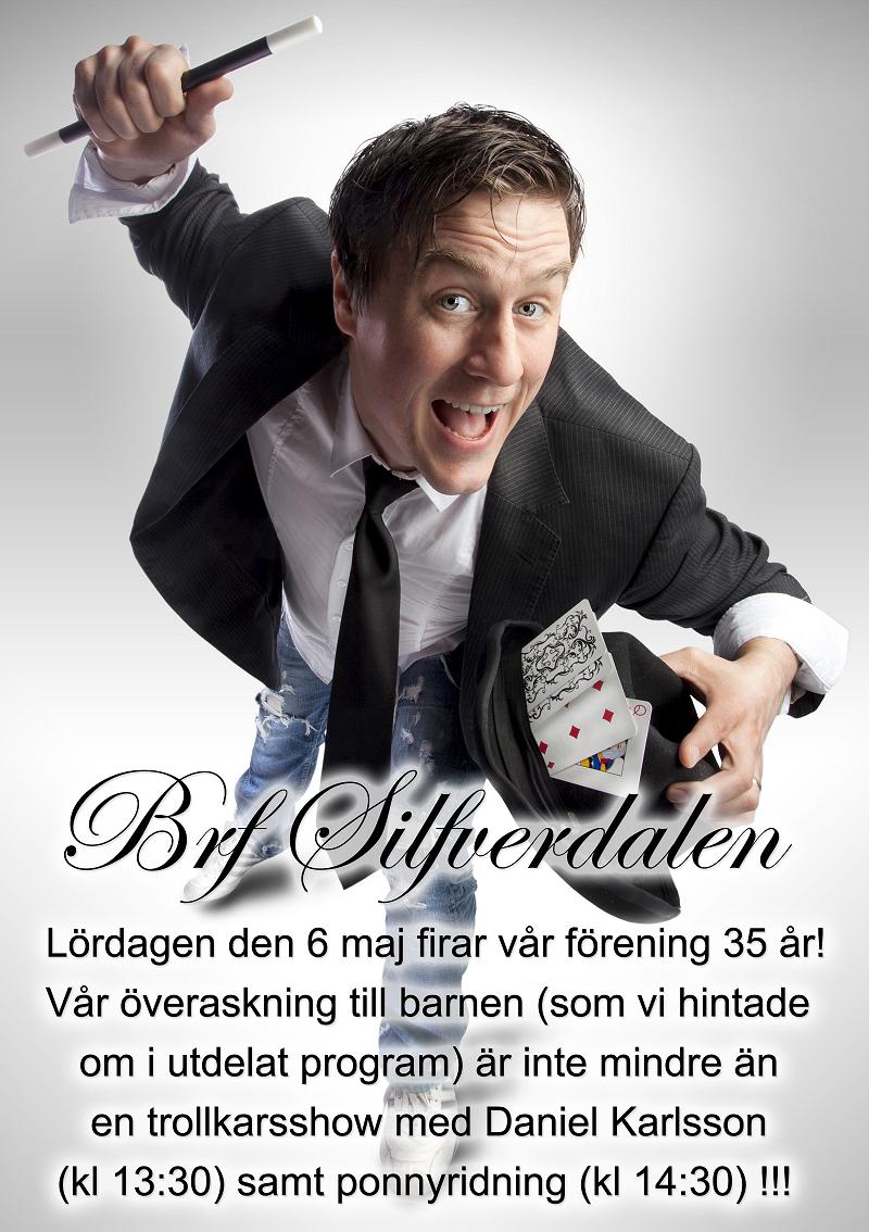 Brf Silfverdalen firar 35 år